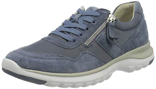 Gabor Shoes Comfort Basic, Zapatillas Mujer, Azul (Nautic 24), 43 EU