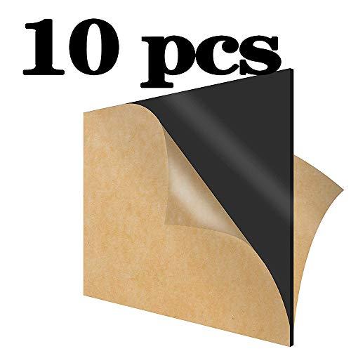 GYZD Bauglas Acrylic Sheet Schwarz Opak, Plexiglas Platten, sehr vielseitig, geringes Gewicht und hohe Schlagzähigkeit, Acrylglas 100mm x 150mmx3mm,100mm x 150mmx5mm