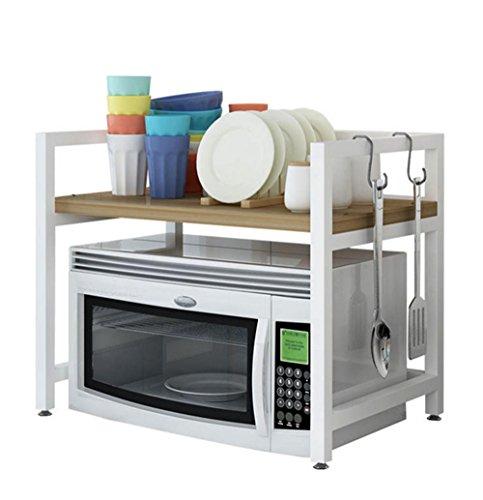 SQL Cuisine micro-ondes étagère 2 couches four vaisselle de cuisine , b