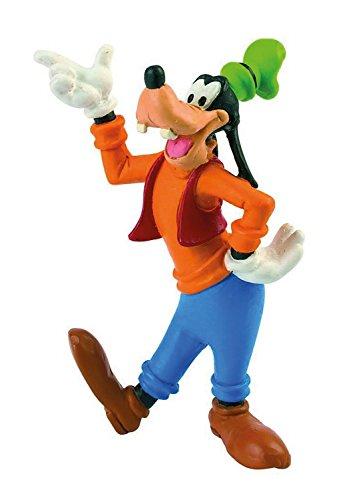 Bullyland 15346 - Spielfigur, Walt Disney Goofy, ca. 8,5 cm groß, liebevoll handbemalte Figur, PVC-frei, tolles Geschenk für Jungen und Mädchen zum fantasievollen Spielen
