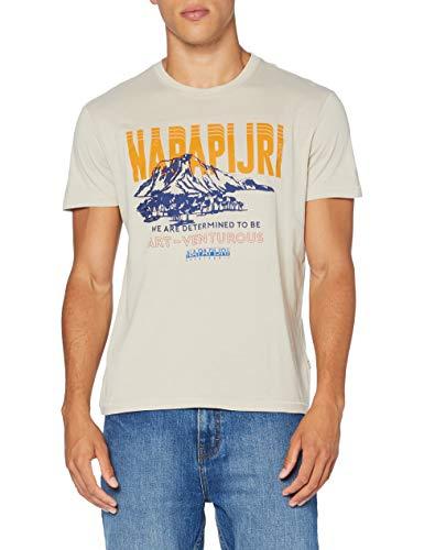 NAPAPIJRI Senaki T-Shirt, Multicolore (Graphic Fu2 Fu21), X-Large Uomo