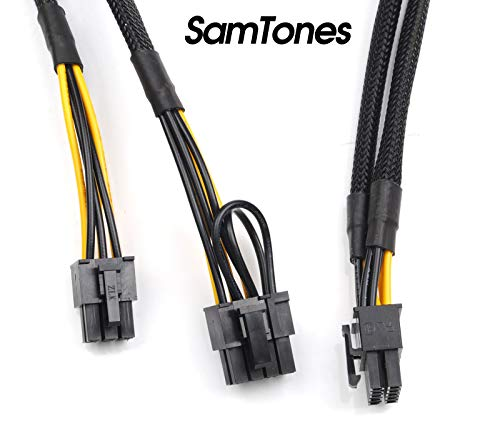 10pin to 6+6pin Power Adapter Cable for HP ProLiant DL580 G8 and GPU 50cm