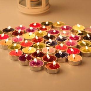 Liroyal 10 Pcs Tea Light Blue Portland Mall 67% OFF of fixed price Candles