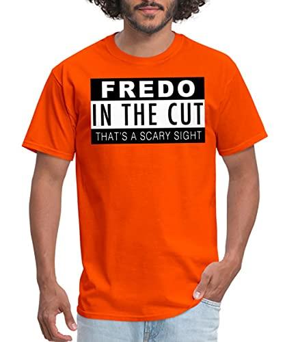 Spreadshirt Glory Boyz Fredo in The Cut Men's T-Shirt, 3XL, Orange