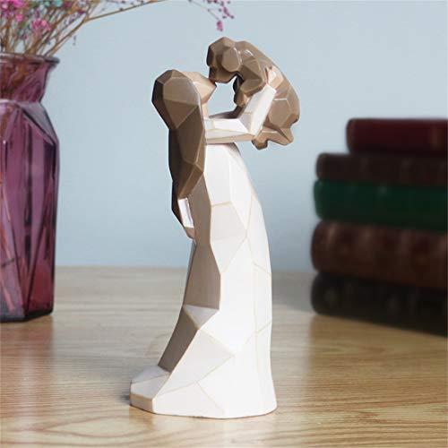 NA- Hundeengel Figuren, Engel der Freundschaft Hund Gedenkstätten, 20,3 cm, modellierte handbemalte Figuren (Lifting Welpe)