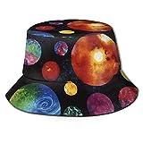 DJNGN Calavera Aguja Halloween Unisex Casual Cubo Sombrero para el Sol Gorra de Pescador para Pesca Senderismo Camping