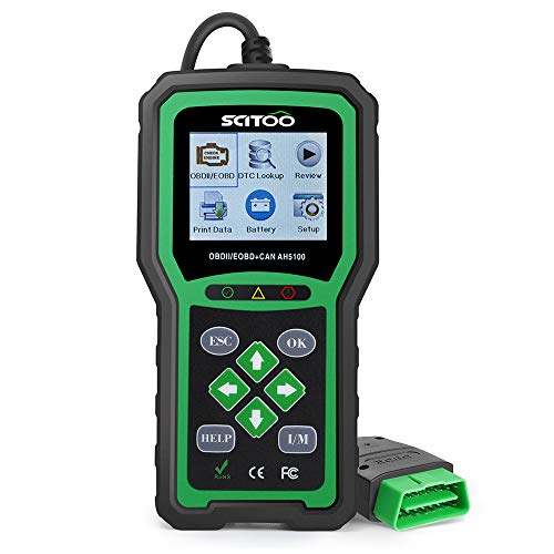 OBD2 Scanner Engine Check Light Fault Code Reader Automotive CAN Diagnostic Scan Tool AH5100