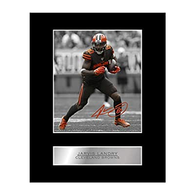 Jarvis Landry Signed Mounted Photo Display Cleveland Browns #05 NFL Printed Autograph Gift Picture Print