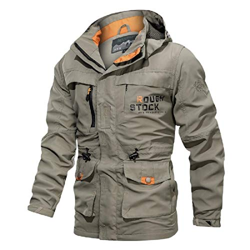 dahuo Herren Mountain Dicke Warm Wasserdicht Skijacke Winddicht Regenjacke Winter Warm Schnee Outwear Gr. XX-Large, 1