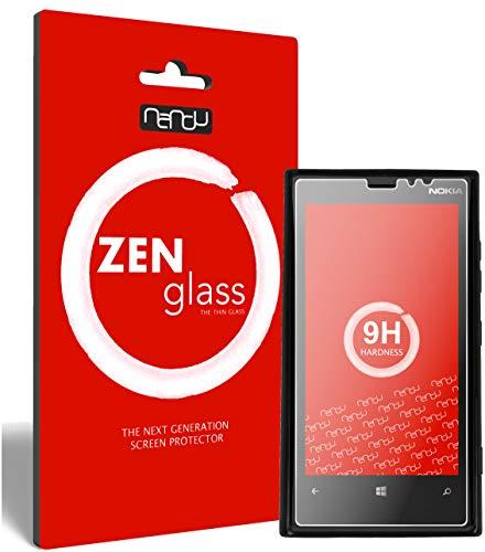 ZenGlass Flexible Glas-Folie kompatibel mit Nokia Lumia 920 Panzerfolie I Display-Schutzfolie 9H I (Kleiner Als Das Gewölbte Display)