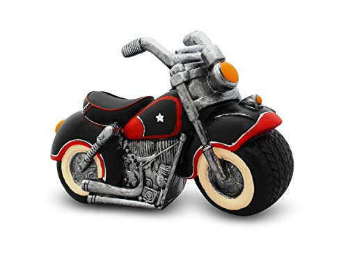 Solinga Spardose Motorrad | Geschenk für Hobby | Geldgeschenk für Biker | Geschenkidee für Motorradfahrer