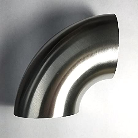 STAINLESS STEEL 304 1D BENDS TIGHT RADIUS ALL SIZES AVAILABLE 45 90 DEGREE NEW