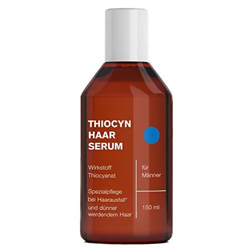 Thiocyn Haarserum ® gegen Haarausfall für Männer | dermatest geprüftes Anti-Haarausfall Mittel | mehr Haarwachstum | MADE IN GERMANY | 150 ml (1 Flasche)