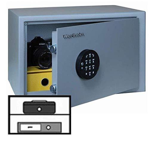 Wertheim Möbeleinsatztresor VA05, Elektronikschloss M-Locks EM3520 inkl. Notstromversorgung, Klasse A nach VDMA 24992, H29xB45.9xT36.7 cm, 30 kg