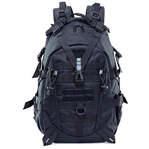 LHI Tactical Backpack 900D with Reflector 35L for Daily Use Outdoor Activitie