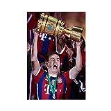 Philipp Lahm Germany Fußballer Leinwand-Poster, Wandkunst,