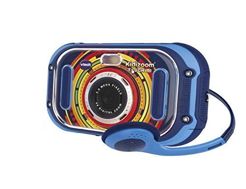 VTech Kidizoom Touch (Blue), Dual Lens Kids Camera, Digital Camera for...