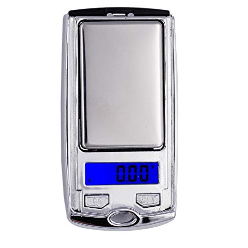 Pocket Digital Car Key Style Scale, BE-TOOL Electronic Pocket Scale 200g/100g 0.01g Weighing Jewellery Design with LED Display