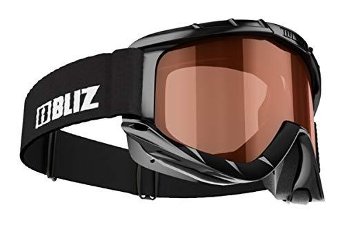 BLIZ Unisex– Erwachsene Park Pro Skibrille, 18 Black/ORANGE S2, mittelgroß