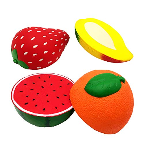 Squishies Toys Scented Squeeze Wassermelone Beste Stressabbau Slow Rising