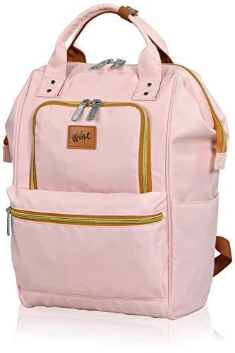 Eminent Laptop Rucksack Mine Backpack 15'' RFID Tagesrucksack Damen Rosa