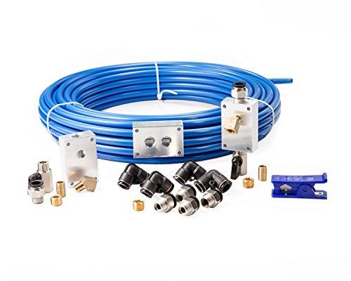 Rapidair 90500 1/2' x 100' Air-Compressor Accessories Master Kit, 17.5' x 17.3' x 4.2'