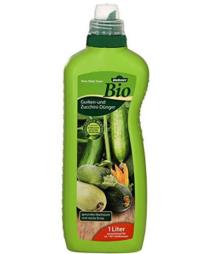 Dehner Bio Gurken- und Zucchini-Dünger, flüssig, 1 l, für ca. 150 l