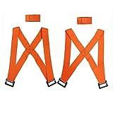 Warmiehomy Correa de Elevación y Lifting, Arnés para Movimiento y Levantamiento para 2 Personas, Correa de móviles Transporte Cinturón de Muebles (2 Correas de Hombro + 2 Correas de muñeca)
