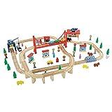 Big City Wooden Adventure Train Set