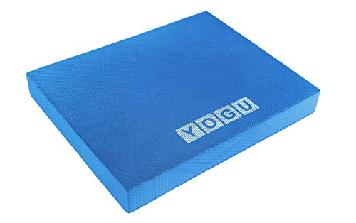 YOGU Balance Foam Pads - Choice: Large, XL and Multi Color (Blue - L)