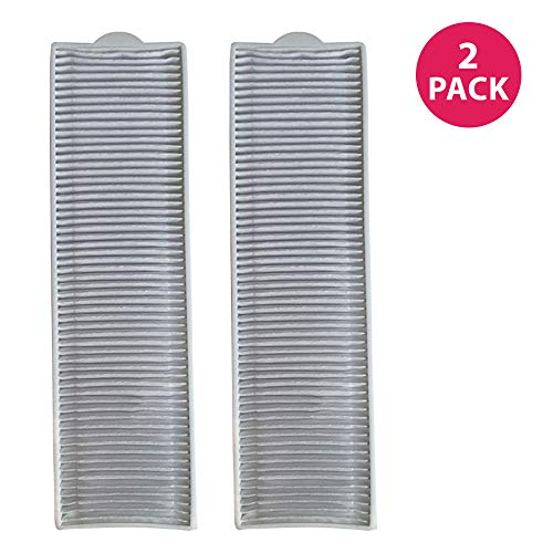 Crucial Vacuum Replacement Filter Part Compatible with Bissell Filter Style 8 & 14, Part 3091 2038093 203-6608 470856 FX HVF090-HEPA Style, Fits Vacs Momentum Velocity Bagless Upright, Bulk (2 Pack)