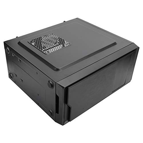 Carcasa Duradera para computadora para Juegos Carcasa para computadora de Escritorio Estilo Mid-Tower de Estilo empresarial Compatible con ATX/Micro ‑ ATX/Mini ‑ ITX U3