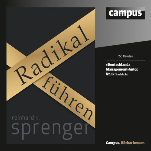Radikal führen audiobook cover art
