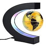 C-Form Floating Globe Beleuchtet, Schwebender...