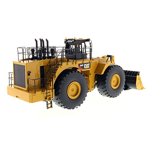 HUIGE Construction Vehicle Toy Model 1:50 Wheel Loader,Full Function Crawler Remote Control Bulldozer Excavator Construction Vehicle Front Loader Dump Truck Toy