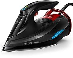Philips stoomstrijkijzer Azur Elite GC5037/80 (3000 W, 260g stoomschok, OptimalTEMP, intelligente Quick Calc release, DynamiQ-modus) zwart*