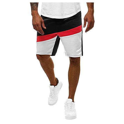 2021 Nuevo Pantalones cortos Hombre Verano Casual Moda Deporte Running Patchwork Jogging Original Pants Cortos Pantalon Fitness Gym Suelto Ropa de hombre Pantalones de playa shorts Cordón