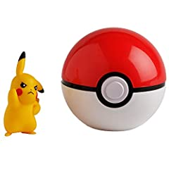 "Take your 2"" Pokémon figure anywhere. Attach your Poké Ball to your belt. Gotta Catch 'Em All. 4 years old and up Official licensed Pokémon product."