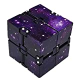 Lispeed Anti Stress Würfel, Galaxy Mini ABS Infinity Cube for Stress Relief Fidget Anti Anxiety...