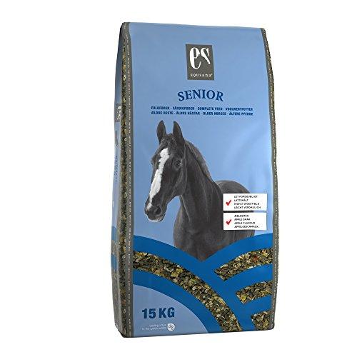 Equsana Senior Vollwertfutter für Pferde, 15 kg