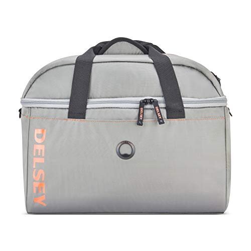 DELSEY Paris Egoa 18' Carry-On Duffel 100% Recycled Materials, Silver