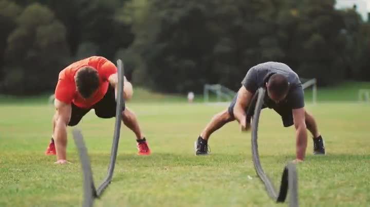 Seilschutz aerobis Blackthorn Battle Rope Fitness Training Schwung-Seil inkl