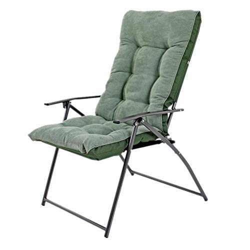 QIDI Chaise Pliante, Chaise d'ordinateur, Chaise Longue de Bureau, Chaise de canapé, Lavable, Pliable, Pause déjeuner, ménage, Chambre, Bureau (Couleur : Bean Green (Classic))