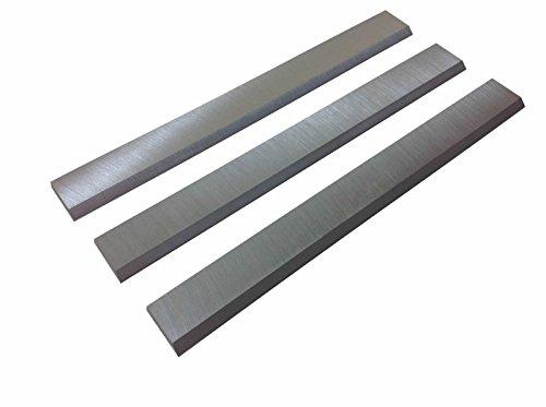 6-1/8-Inch Jointer Knives Blades for Ridgid JP0610,Delta 37-190 37-195, JET, Powermatic, Craftsman, Rockwel, Ridgid jointers - Set of 3