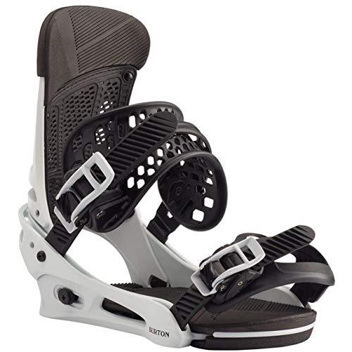 Burton M Malavita Weiß, Herren Snowboard-Bindungen, Größe M - Farbe Frost