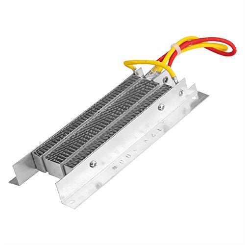 Yosoo 12V 400W PTC elektrische keramische Elektro Keramik Heizelement Installationssatz Heizung Thermostat Heizungs Platte mit automatische Regelung