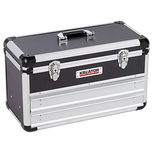 KREATOR KRT640602B Aufbewahrungsbox, Aluminium, 52,3 x 24 x 30 cm
