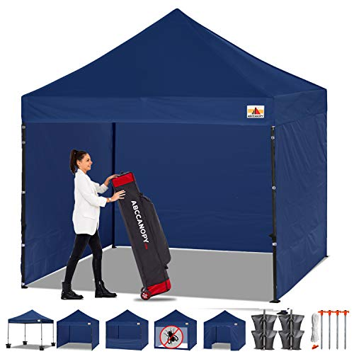 Top pop up canopy 10×10 navy blue for 2020