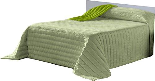 Lucena Cantos - Colcha Todo Uso Linea, Fibra 120 gr, (Verde, Cama 90, 180x270)