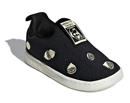adidas Stan Smith 360 I - Zapatillas para niño, color negro, color Negro, talla 25 EU